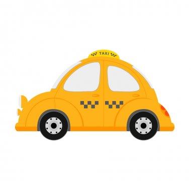 Small taxi car