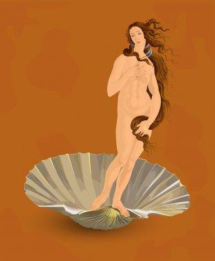 Venus. The ideal of feminine beauty.