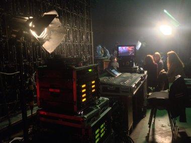 TV filming process