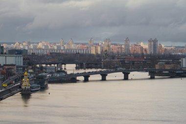 Ukraine. Kiev. Obolon view