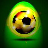 Football banner.