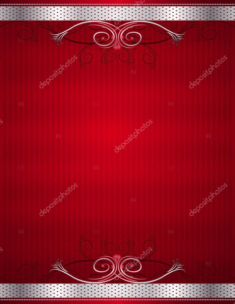 Sfondo Rosso Antico Illustrazione Vettoriale Vettoriali Stock