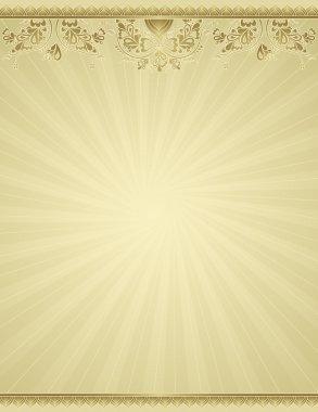 yellow antique background, vector