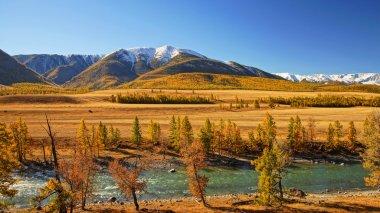 River HuIa, KurayskaI steppe and North Huyskiy backbone.
