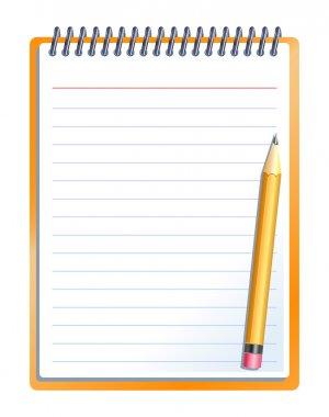 """Картина, постер, плакат, фотообои """"ноутбук с карандашом """", артикул 40851559"""