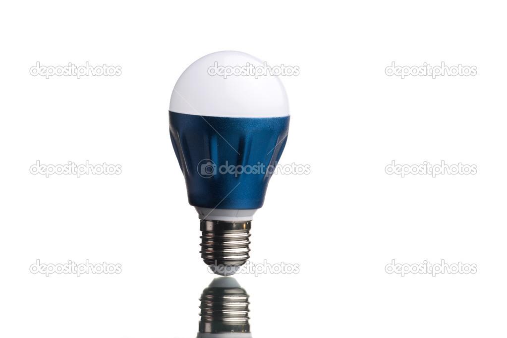 Lampada a led u foto stock itan