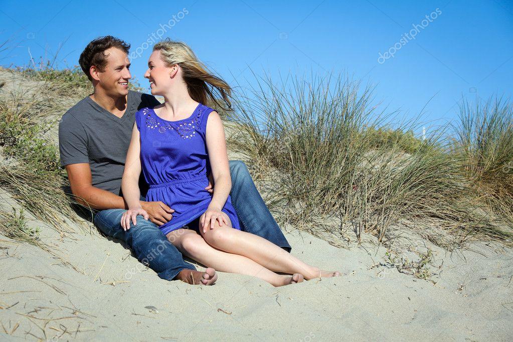 Couple sand dunes