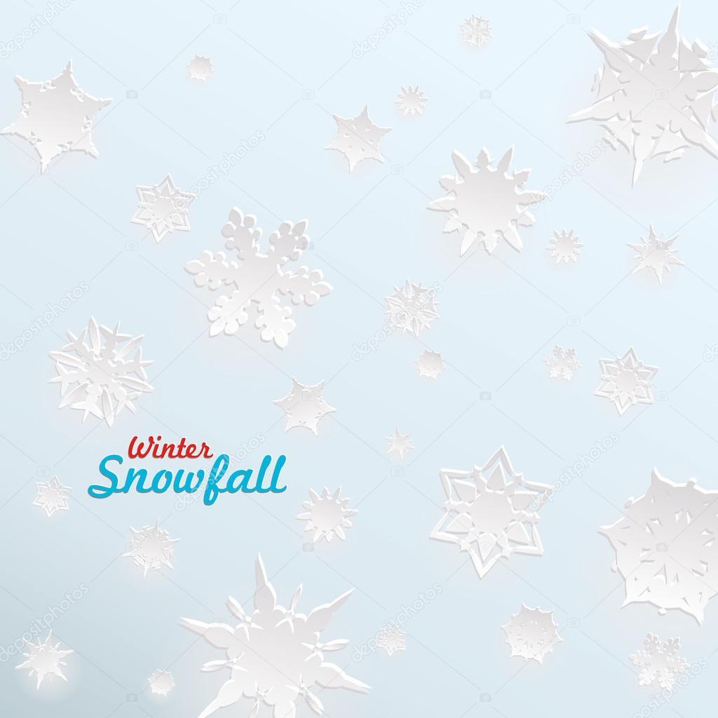 kreative schnee vorlage f r weihnachten und winter. Black Bedroom Furniture Sets. Home Design Ideas