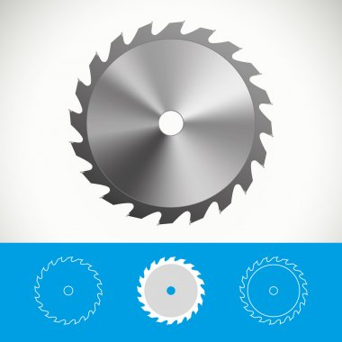 Circular saw vector icon design