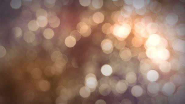 rozmazané světla hd video na pozadí