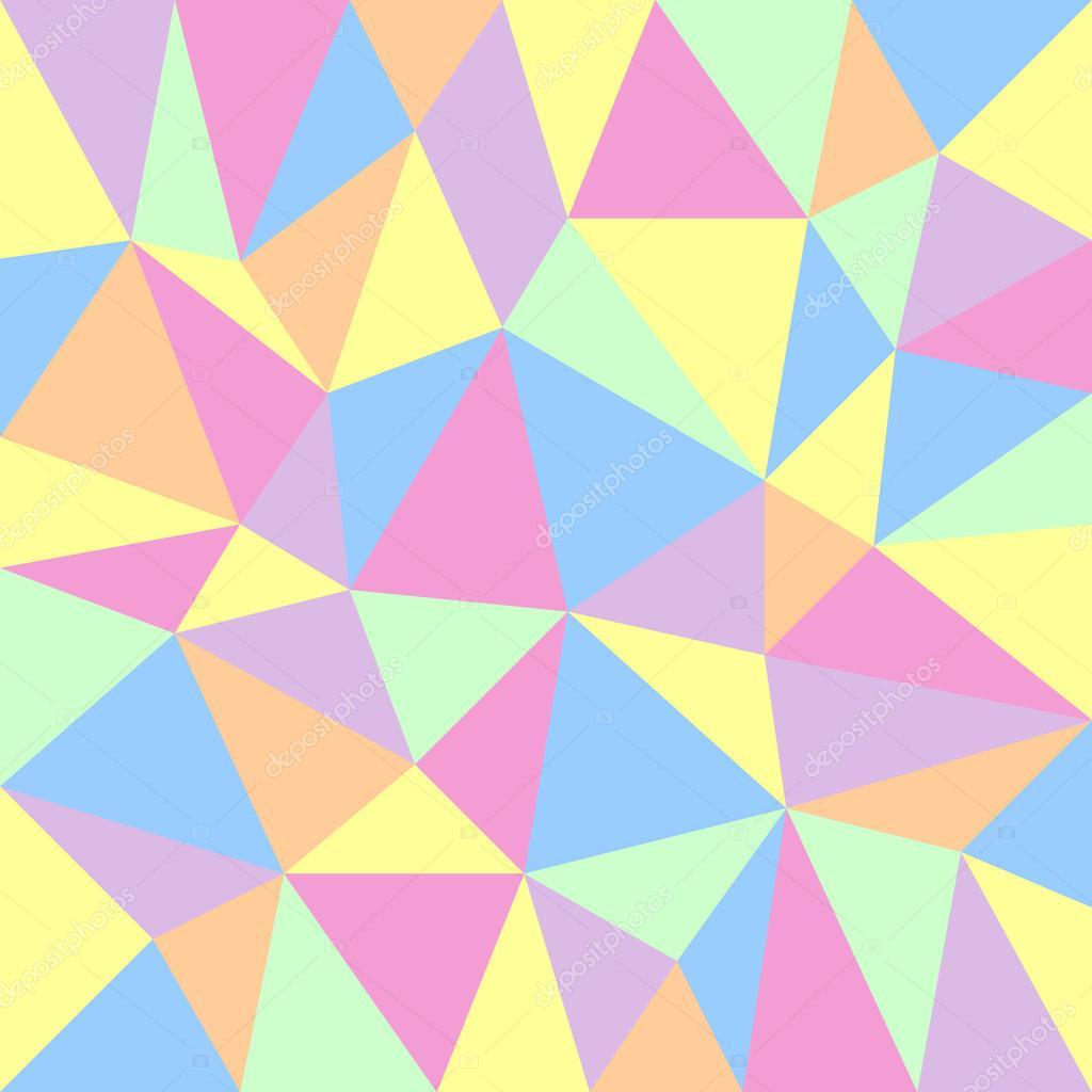Triangular Floor Plan Fondo Pastel Triangular Vector De Stock 169 Ardely 47636071