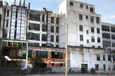 Detroit Abandoned Automotive Factory