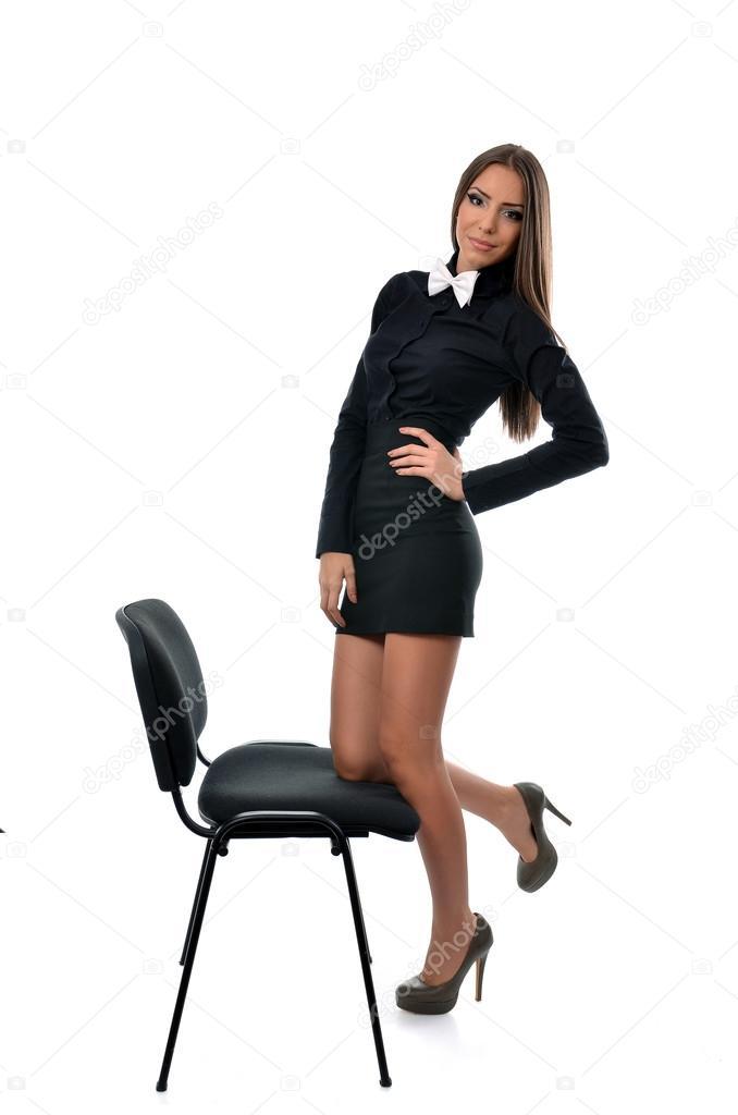 Сексуальная бизнес леди