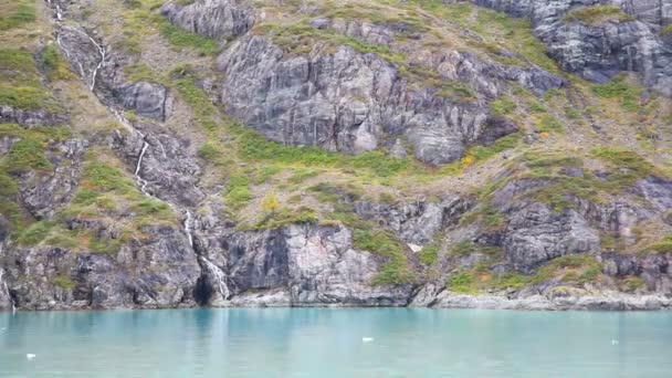 vodopády, ledovec