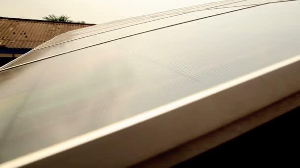 solární panel dolly zastřelil