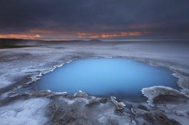 Hveravellir geothermal Iceland
