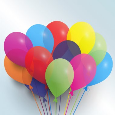 Birthday balloons