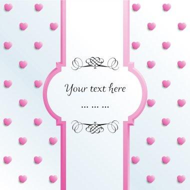 Invitation, Greeting Card, Birthday Card vector eps10