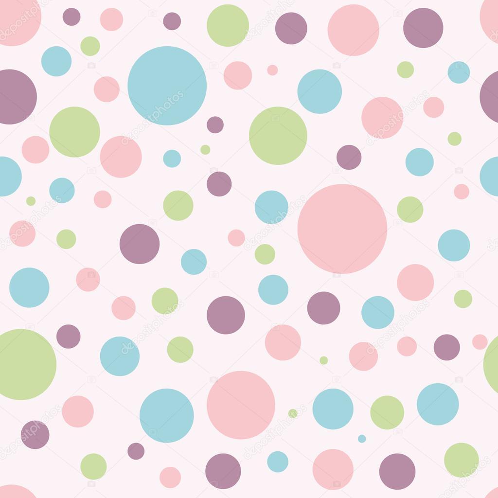 Colores Bebe.Fondo De Bebe Con Circulos De Colores Archivo Imagenes