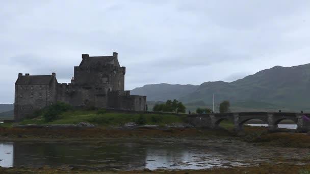 storico castello di eileen donan in Scozia