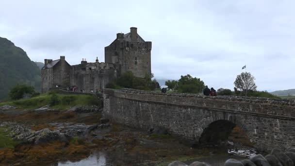 gyönyörű eileen donan castle Skóciában