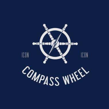 Compass steering wheel
