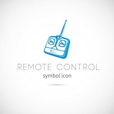Remote control symbol icon