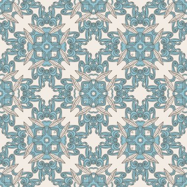 Kaleidoscopic pattern with many details