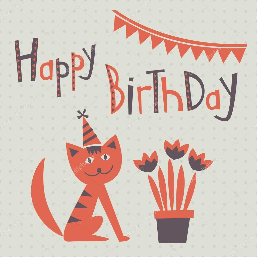 Immagini: biglietti di auguri di buon compleanno con gatti
