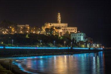 Old Jaffa at night . Israel