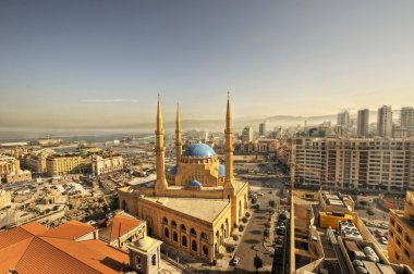 The Magnificent Mohammed el-Amine Mosque in downtoun Beirut, Lebanon