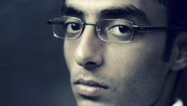 Arab man face