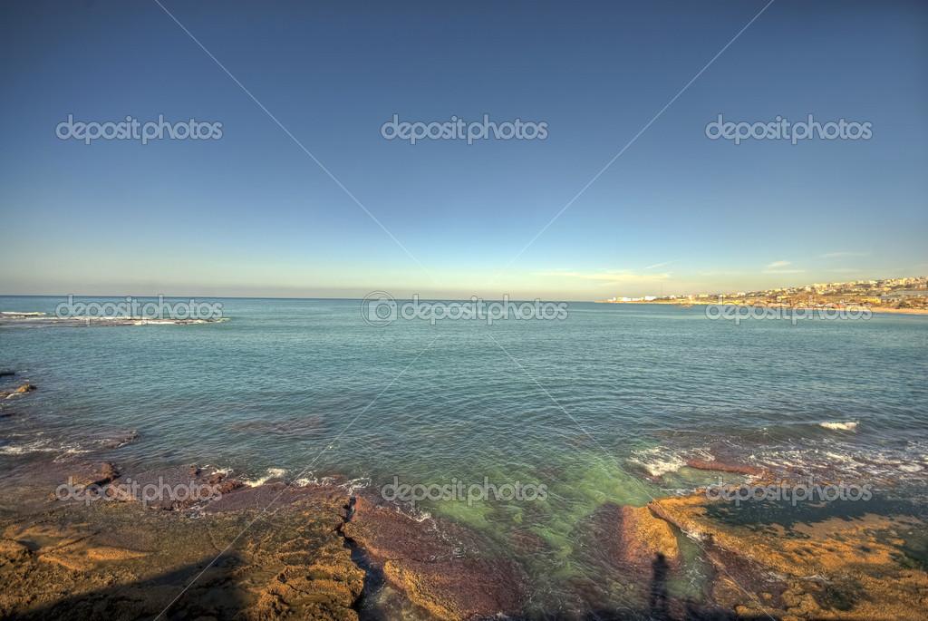 Summertime sea beach