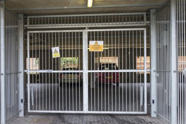 Gated car parking
