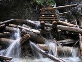Photo Waterfall in Slovak Paradise