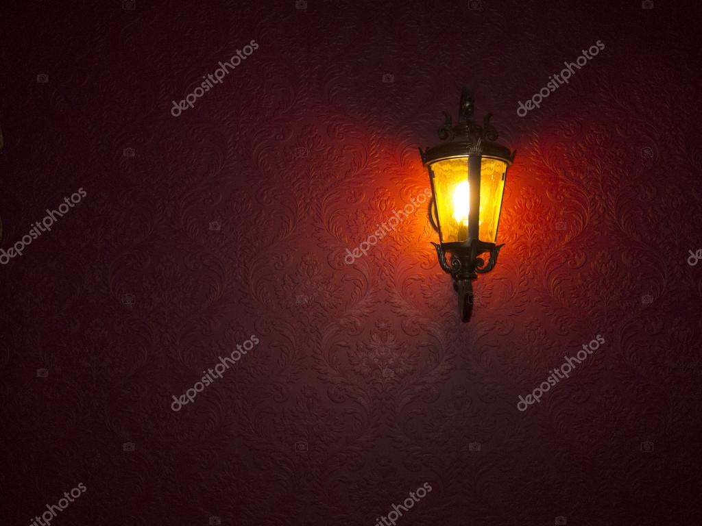 Moody Lamp with nice texture background