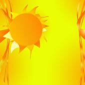 Fotografie die Sonne