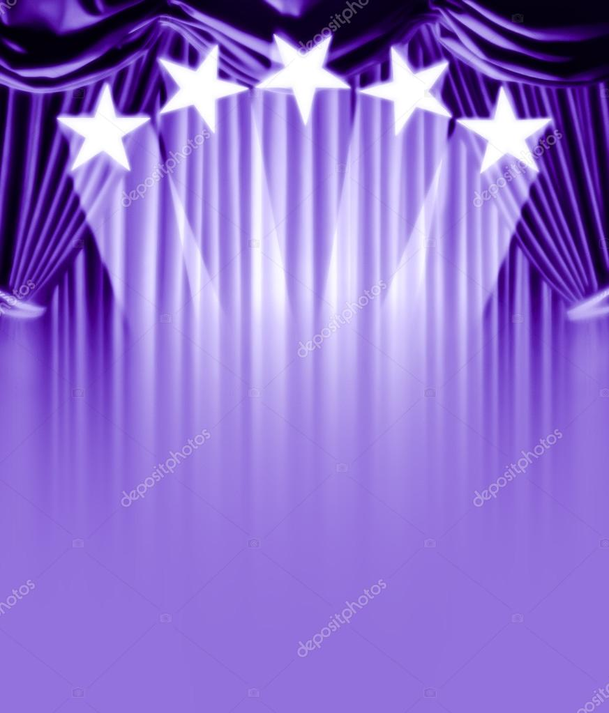 Curtain vip stock vector