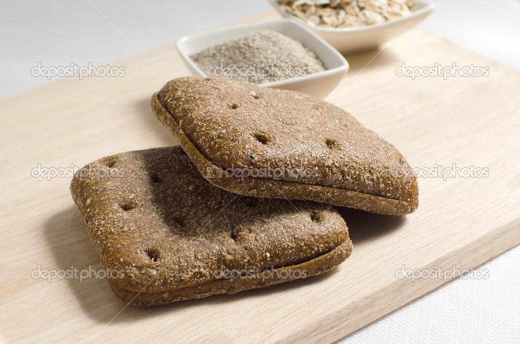 rågbröd i form