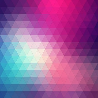 Abstract background, triangle design