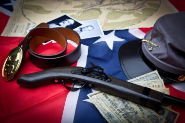 Civil War Items Confederate