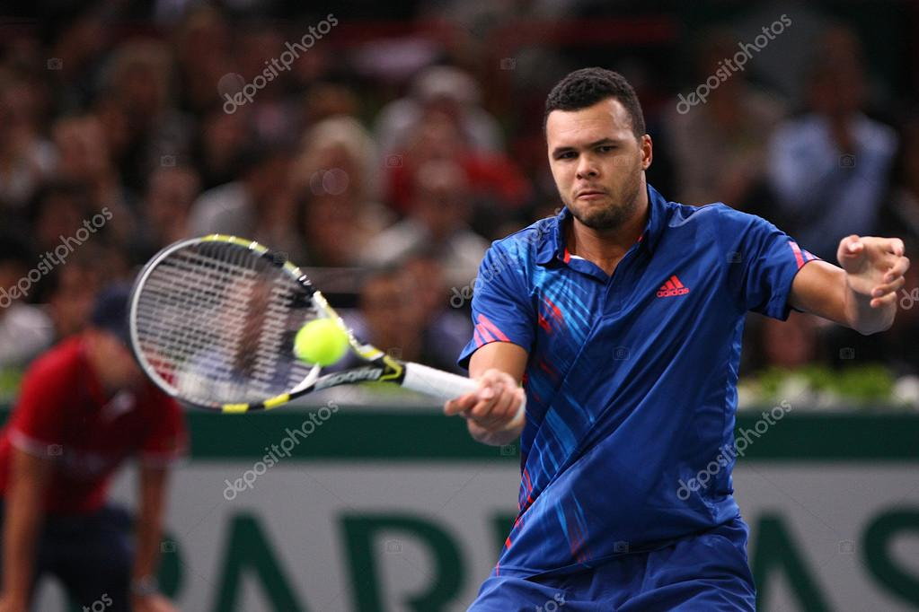 J-W Tsonga on the BNP Paribas Masters – Stock Editorial