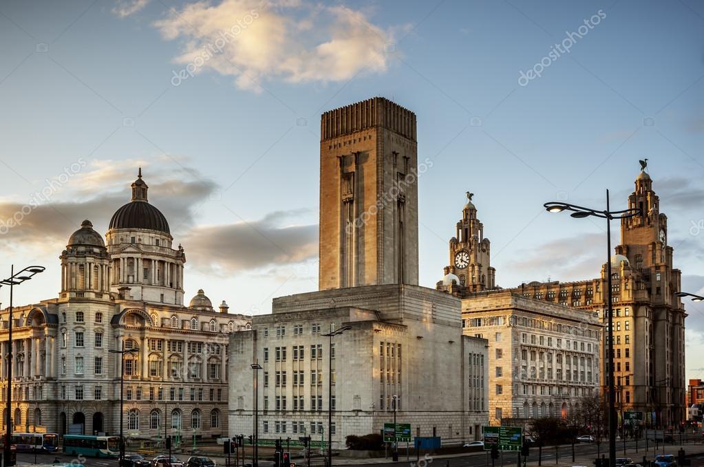Pier Head - Liverpool - England