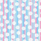 barevné pozadí s pruhy a polka dot