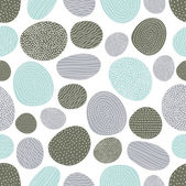 Decorative vector seamless pattern with stones.