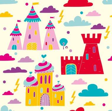 Fairy-tale castles.