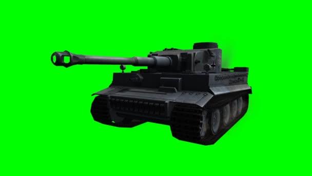 katonai páncélozott harci jármű, a kört a zöld képernyő