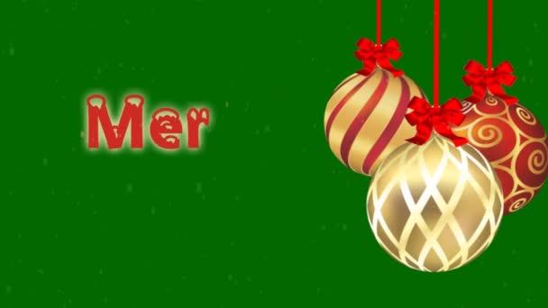 veselé vánoční animace