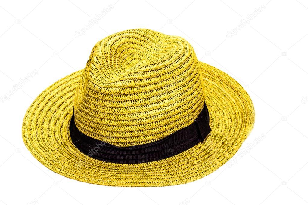 sombrero amarillo — Fotos de Stock © cubee  42576623 d77ab364c14