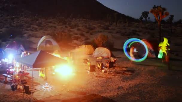 Desert Camping Time Lapse Raving